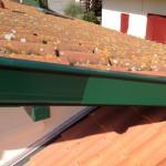 bandeau aluminium vert