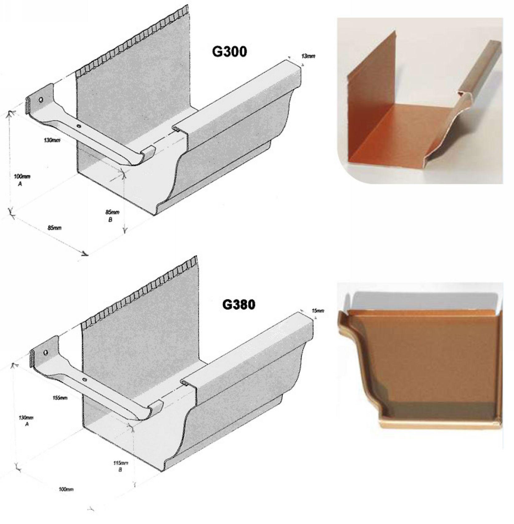 les goutti res en aluminium alubest. Black Bedroom Furniture Sets. Home Design Ideas
